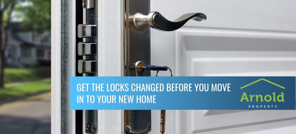 changing locks in your home security