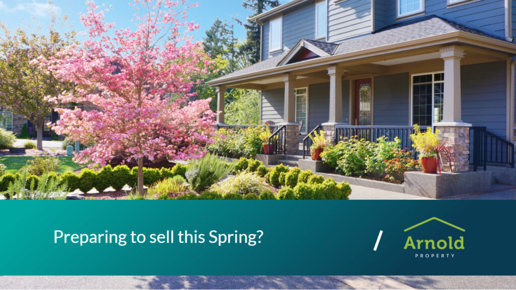 Preparing to sell in spring